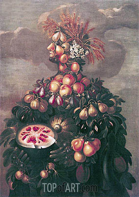 Summer,  | Arcimboldo | Painting Reproduction