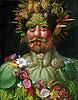 Rudolf II (Vertumnus) | Giuseppe Arcimboldo