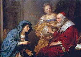 Bathsheba's Appeal to David, 1651 by Govert Flinck | Painting Reproduction