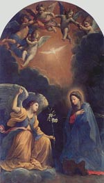 The Annunciation, 1610 by Guido Reni | Painting Reproduction