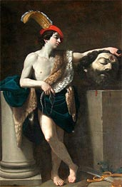 David with the Head of Goliath | Guido Reni | outdated