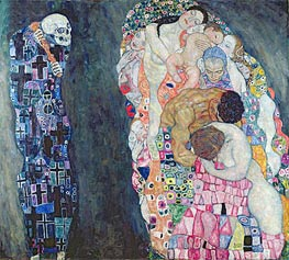 Death and Life, c.1910/15 by Klimt | Painting Reproduction
