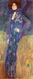 Portrait of Emilie Floge, 1902 by Klimt | Painting Reproduction