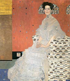 Portrait of Fritza Riedler | Klimt | Painting Reproduction