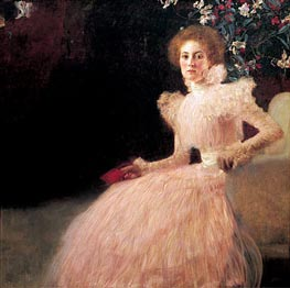 Portrait of Sonja Knips, 1898 by Klimt | Painting Reproduction