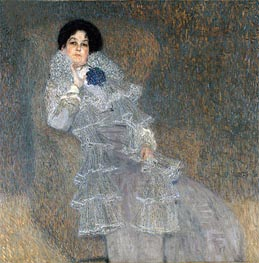 Portrait of Marie Henneberg, c.1901/02 by Klimt | Painting Reproduction