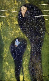 Mermaids (Whitefish), c.1899 by Klimt | Painting Reproduction