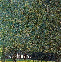 The Park, 1910 by Klimt | Painting Reproduction