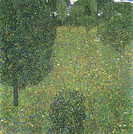 Landscape Garden (Meadow in Flowers), c.1905/06 by Klimt | Painting Reproduction