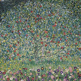 Apple Tree I, 1912 by Klimt | Painting Reproduction