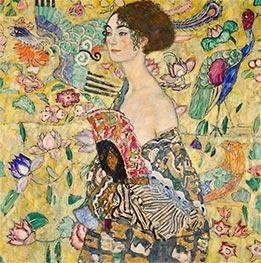 Lady with a Fan | Klimt | veraltet