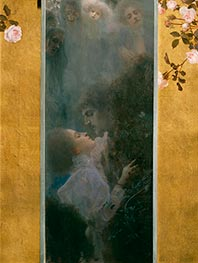Love, 1895 by Klimt | Painting Reproduction