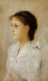 Emilie Floge, 1891 by Klimt | Painting Reproduction