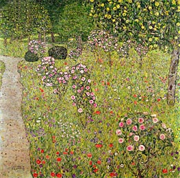 Orchard with Roses | Klimt | Gemälde Reproduktion