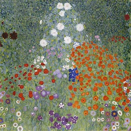 Flower Garden, c.1905/07 by Klimt | Painting Reproduction