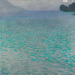 Attersee I, 1901 by Klimt | Painting Reproduction