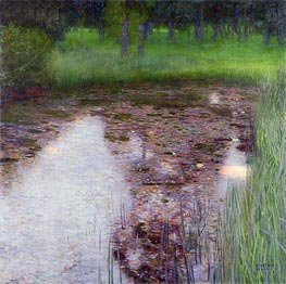 The Swamp, 1900 by Klimt | Painting Reproduction