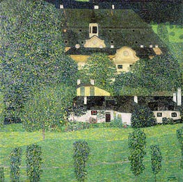 Kammer Castle at Attersee II | Klimt | Gemälde Reproduktion