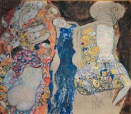 The Bride, 1918 von Klimt | Gemälde-Reproduktion