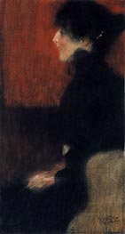 Portrait of a Lady, c.1897 von Klimt | Gemälde-Reproduktion