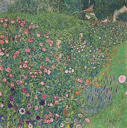 Italian Garden Landscape | Klimt | Gemälde Reproduktion