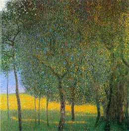 Fruit Trees, 1901 von Klimt | Gemälde-Reproduktion