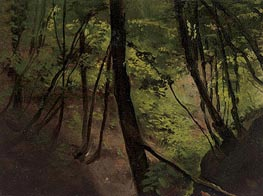 Waldinneres (In the Middle of the Forest), c.1881/87 von Klimt | Gemälde-Reproduktion