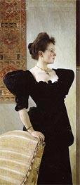 Portrait of Marie Breunig, c.1894 von Klimt | Gemälde-Reproduktion