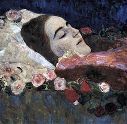 Ria Munk on Her Deathbed, 1912 von Klimt | Gemälde-Reproduktion