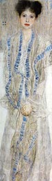 Portrait of Gertrud Loew | Klimt | Gemälde Reproduktion