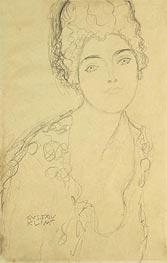 Bust of a Lady, c.1917 von Klimt | Gemälde-Reproduktion