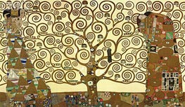The Tree of Life - Stoclet Frieze, c.1905/06 von Klimt | Gemälde-Reproduktion