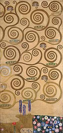 Right-Hand Edge (Stoclet Frieze), c.1905/06 von Klimt | Gemälde-Reproduktion