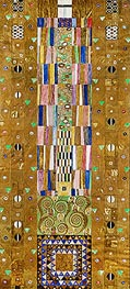 The Knight (Stoclet Frieze) | Klimt | Gemälde Reproduktion