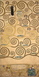 Right-Hand Portion (Stoclet Frieze), c.1905/06 von Klimt | Gemälde-Reproduktion