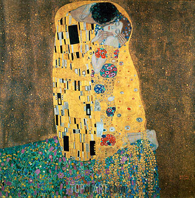 The Kiss, c.1907/08 | Klimt| Painting Reproduction