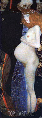 Hope I, 1903 | Klimt| Painting Reproduction