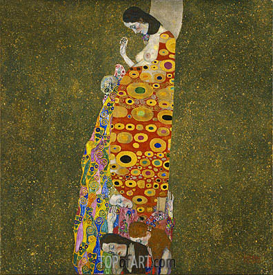 Hope II, c.1907/08 | Klimt| Painting Reproduction