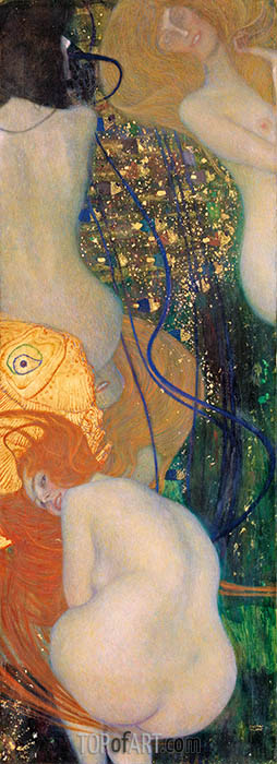 Gold Fish, c.1901/02 | Klimt| Painting Reproduction