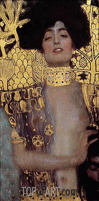 Judith I, 1901 | Klimt | Gemälde Reproduktion
