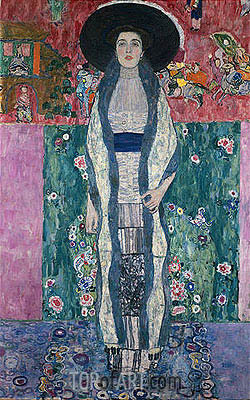 Portrait of Adele Bloch-Bauer II, 1912 | Klimt| Painting Reproduction