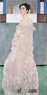 Portait of Margaret Stonborough-Whittgenstein, 1905 | Klimt | Painting Reproduction