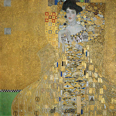 Portrait of Adele Bloch-Bauer I, 1907 | Klimt | Painting Reproduction