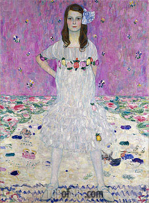 Portrait of Mada Primavesi, 1912 | Klimt | Painting Reproduction