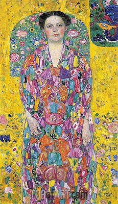 Portrait of Eugenia Primavesi, c.1913/14 | Klimt| Painting Reproduction
