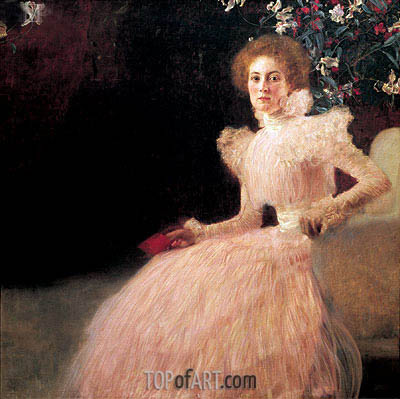 Portrait of Sonja Knips, 1898 | Klimt | Painting Reproduction