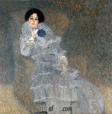 Portrait of Marie Henneberg, c.1901/02 | Klimt| Painting Reproduction