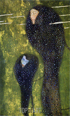 Mermaids (Whitefish), c.1899 | Klimt | Painting Reproduction