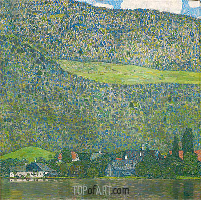 Attersee, 1915 | Klimt| Painting Reproduction