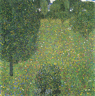 Landscape Garden (Meadow in Flowers), c.1905/06 | Klimt | Painting Reproduction